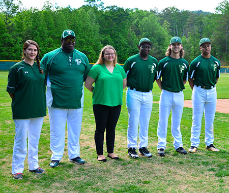 TFS baseball seniors recognized