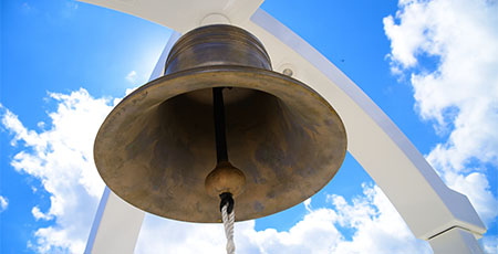 Historic bell in place to establish new traditions