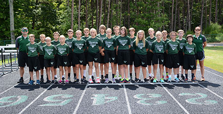 TFS middle school cross country team excels at North Ga Championships