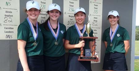 TFS golfers excel in Area tournament