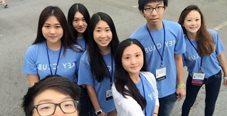Key Club Members Attend Distric Convention