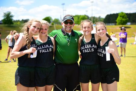 TFS varsity track and field athletes advance to state sectionals competition