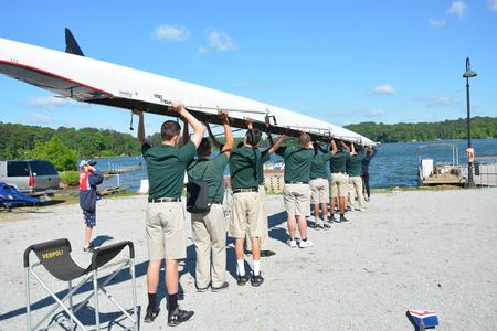 Rowing club field trip brings reading assignment to life