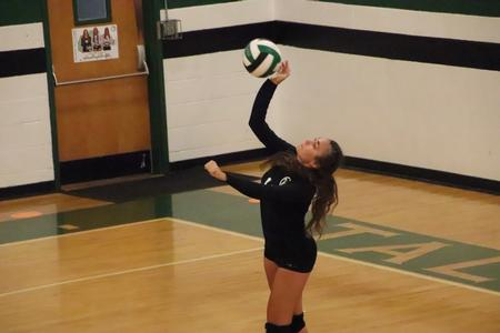 JV volleyball earns win in straight sets versus East Jackson