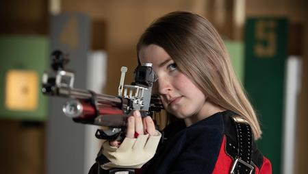 Perdue leads TFS in precision rifle match