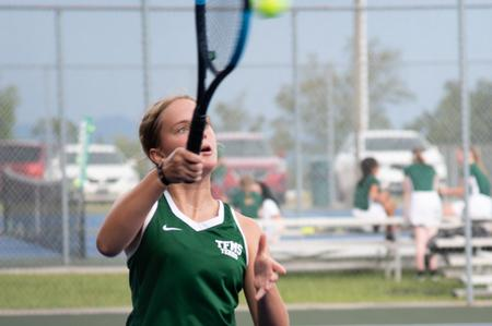 Tennis remains unbeaten after boys and girls beat Rabun Gap