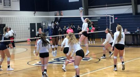 Volleyball season ends with Sweet 16 loss at St. Francis