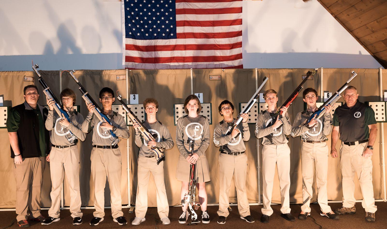 Air rifle team on target for 2017-18 season