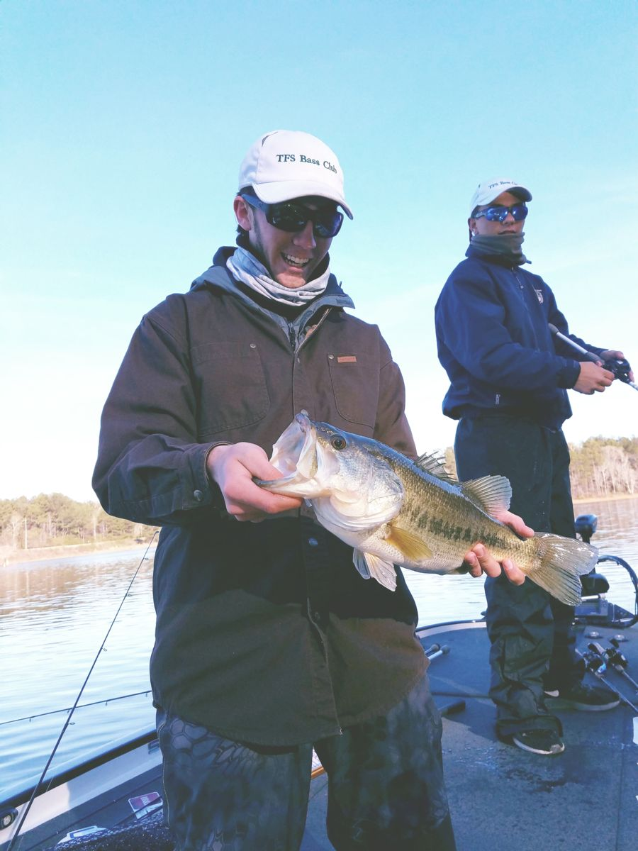 Tfs bass fishing club ranked no 5 in georgia b a s s for Bass fishing in georgia